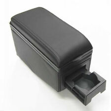 Universal Car Armrest Arm Rest Centre Console Front And Back Double Cup Holders
