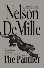 NELSON DE MILLE- THE PANTHER-  PAPERBACK ADVENTURE FICTION - ONE OF HIS BEST