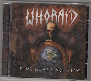 WHORRID - time heals nothing CD