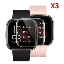 3 X For Fitbit Versa 2 Screen Protector Ultra Clear