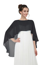 Shawls and Wraps for Evening Dresses Chiffon Wedding Capes Soft Shrugs for Women