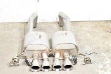 15-18 Corvette C7 Z06 Axle Back Exhaust System Mufflers Npp Bi Mode Aa6636