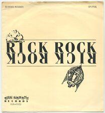"RICK ROCK (PARTHENON HUXLEY) Buddha, Buddha/Sputnik 7"" 1983 Big Groovy EX+ in ps"