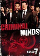 CRIMINAL MINDS - STAGIONE 07  5 DVD  COFANETTO