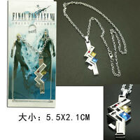 Final Fantasy FF VII Lightning Cosplay Necklace Chain Pendant