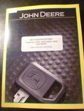 John Deere Schlepper 6520 6620 6820 6920 6920S Handbuch