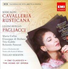 Mascagni: Cavalleria Rusticana; Leoncavallo: Pagliacci ECD (CD, Oct-2010, Callas