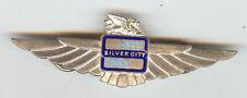 Silver City Airways UK Defunct Crew Pilot Wings Badge