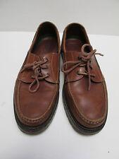 Mens U.S. Trask Mens Brown Shoes Bozeman Montana 3247 7 Size 12 M Made in Brazil