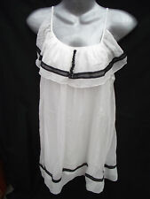 BNWT Womens Sz 14 Yue Ping White Designer Dress RRP$90