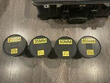 New listing Zeiss cp.2 Cinema Lens Kit (21mm/35mm/50mm/85mm) Ef mount
