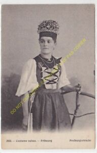 CPA SUISSE Costume Suisse FRIBOURG FREIBURGERTRACHT Edit PHOTOTYPIE CO n3935