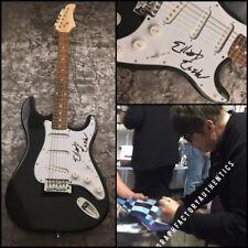GFA The Cars Band Guitarist * ELLIOT EASTON * Signed Electric Guitar PROOF COA