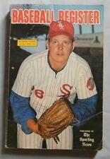 Official 1973 Baseball Register Wilbur Wood Chicago White Sox