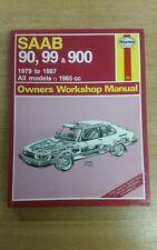 SAAB 90 99 900 1979-1987 HAYNES WORKSHOP MANUAL 765 IN CLEAN USED COND FREE P&P