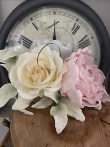 Rose/peony Sugar Flower Wedding/celebration Cake Decoration/topper