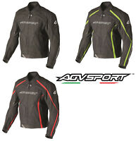 New AGVsport Dragon Leather Motorcycle Jacket CE Armour Vented YKK Zippers