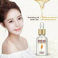 HOREC Whitening White Rice Serum Face Moisturizing Cream Anti Wrinkle Anti Aging
