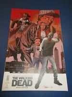 Walking Dead Deluxe #1 Adlard Variant NM Gem wow