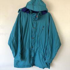 Vintage North Face jacket mens medium Excellent Condition Teal