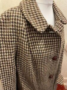 Ladies Vintage Harris Tweed Coat