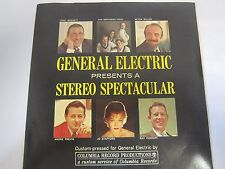 """GENERAL ELECTRIC 7"""" 33 1/3 RPM 'STEREO SPECTACULAR' Highlights COLUMBIA PROMO *"""