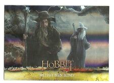 2015 The Hobbit Desolation of Smaug Silver Foil Card # 26