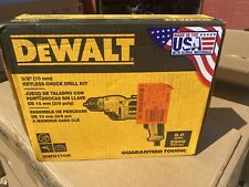 Dewalt Electric 8A 120VAC 2500 RPM 3/8 in Keyless Chuck Drill W/ Cord DWD110K