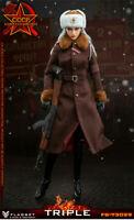 """FLAGSET FS73029 1/6 Red Alert Soviet Female Officer Katyusha 12"""" Figure Toys"""