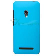 Custodia back cover rigida per Asus Zenfone 5 azzurra plastica specifica nuova