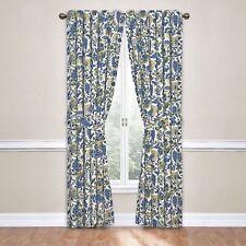 Waverly Imperial Dress Curtain Panel Porcelain Rod Pocket w/ Tieback 52 X 63 NEW