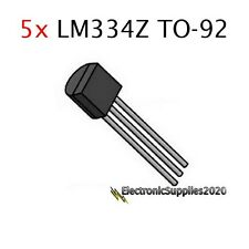 5pcs LM334Z TO-92 Adjustable Current Sources and Temperature Sensor LM334