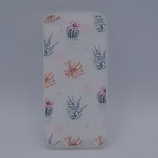 iPhone 5, 5s, SE hoesje  - rozen met vlinder