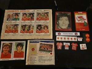 Charlton Athletic cards & stickers collection