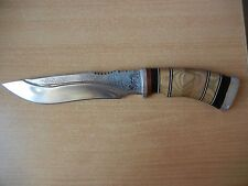 Vintage knive knife Hunting very nice Collectible Damask Steel