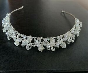 Beautiful David's Bridal Brand Headband bridal hair accessories Headband