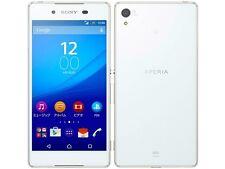 AU KDDI SONY SOV31 XPERIA Z4 ANDROID 6.0 PHONE SMARTPHONE UNLOCKED JAPAN WHITE
