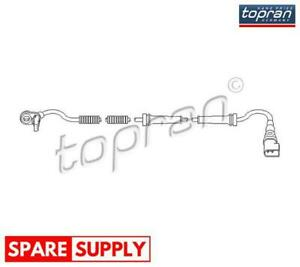 SENSOR, WHEEL SPEED FOR FORD MAZDA TOPRAN 303 948