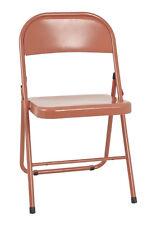 4x Klappstühle Klappstuhl Terassenstuhl Küchenstuhl Stuhl Mod. 44409 Rot
