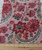 Never Used Antique 18thC Printed Toile de Jouy Cotton Fabric Sample~