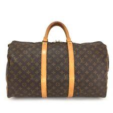 100% Authentic Louis Vuitton Monogram Keepall 50 Boston Travel Hand Bag /10786