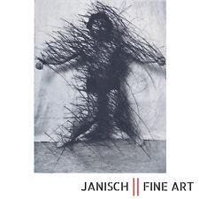 """ARNULF RAINER - """"Selbst in Waage"""", Radierung, handsigniert, 1975/76, Auflage 25!"""