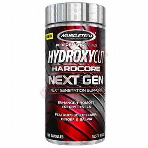 Muscletech Hydroxycut Hardcore Next Gen 100capsule Seal has minor crack