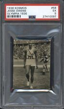 1936 Kosmos JESSE OWENS #84 PSA 8 NM-MT Olympic Card HIGHEST GRADED