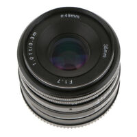 35mm F/1.7 E-Mount APS-C Manual Fixed Prime Lens for Sony Mirrorless Camera
