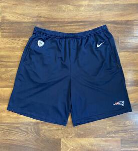 NWT Nike NFL Men's New England Patriots Dri-FIT Men's Shorts Size XL AO3139-419