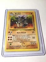 RHYDON - Base Set 2 - 59/130 - Uncommon - Pokemon Card - Unlimited Edition NM