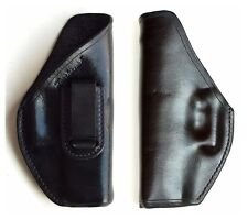 Turtlecreek Leather IWB Holster Glock 19 23 or 32 Right Hand Pattern Fixed Clip