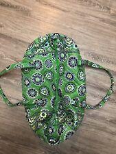 Vera Bradley Large Duffel Travel Bag - Cupcake Green
