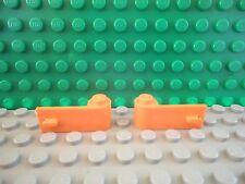 Lego 1 pair of Orange car truck door 1x3x1 NEW